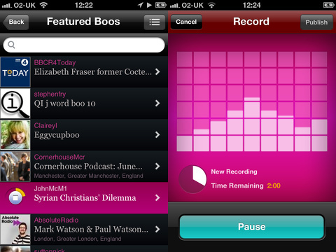 audioboo iphone app