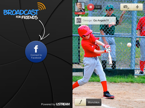 Broadcast for Friends (BFF) by Ustream app review