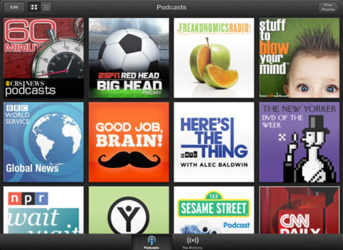 Podcasts app review - iPad