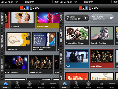 NPR Music iPhone app review