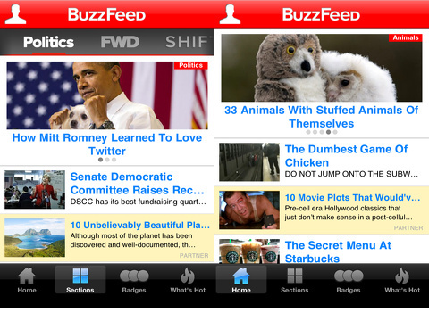 buzzfeed iphone app review