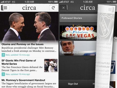 circa news iphone app review