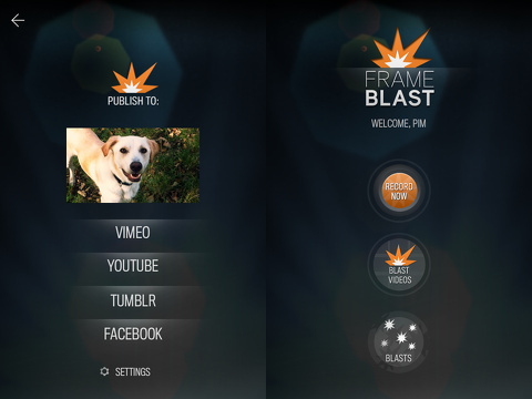 frameblast iphone app review