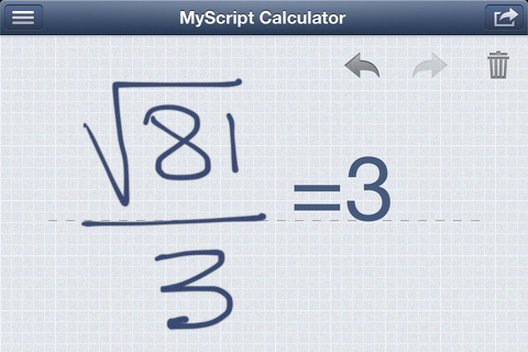 myscript calculator iphone app review