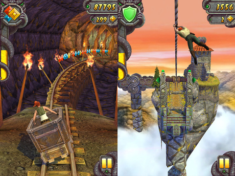 temple run 2 iphone app review