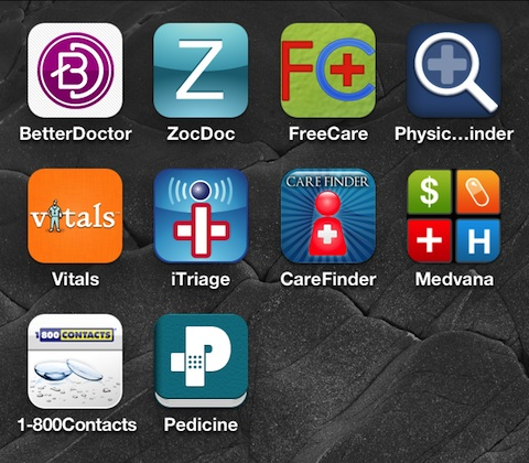 10 iPhone apps for Finding Doctors, Making Appointments, & Managing Your Health Care