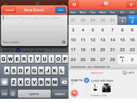 sunrise calendar iphone app review