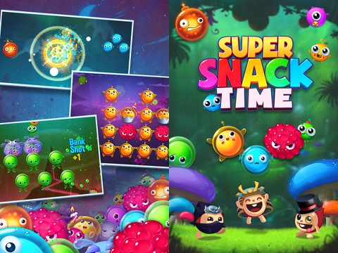 super snack time iphone app review