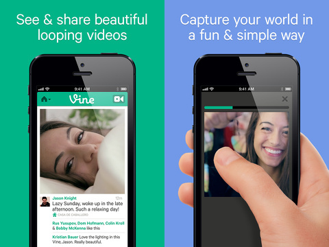 vine make a scene iphone app review