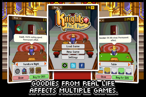 Knights of Pen & Paper iPhone game review