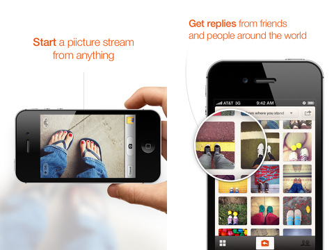 piictu talk with photos iphone app review