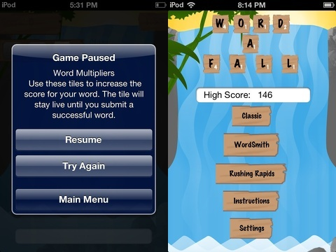 word-a-fall iphone app review