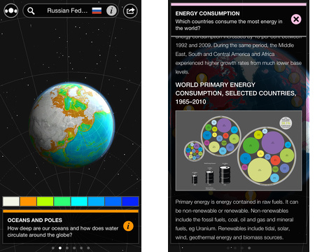 atlas by collins iphone app review