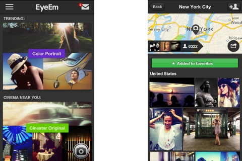 EyeEm - Photo Filter Camera iPhone app review