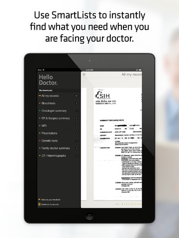 Hello Doctor - Medical records organizer