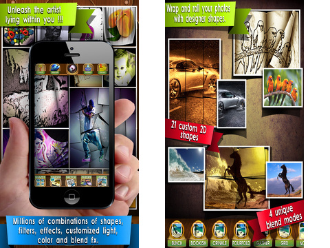 wrap camera effects editor iphone app review