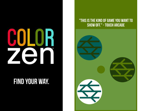 color zen iphone app review