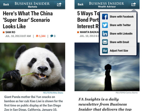 business insider iphone app review