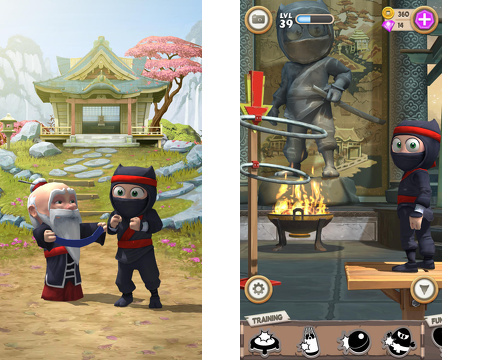 clumsy ninja iphone app review