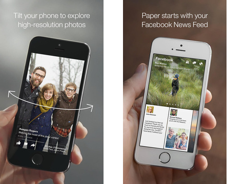 paper stories from facebook iphone app review