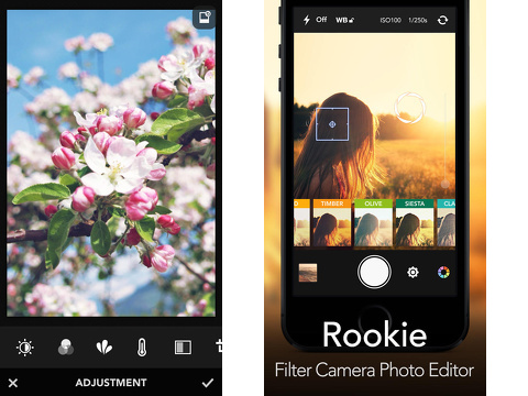 rookie photo editor iphone app review