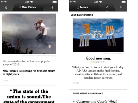 nyt now iphone app review
