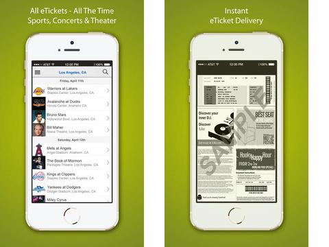 razorgator etickets iphone app review
