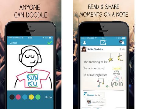 ku creative social network iphone app review