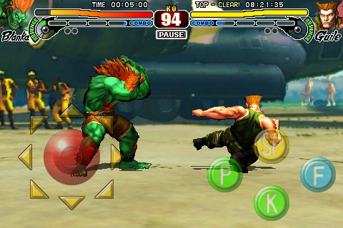Street Fighter IV on the iPhone