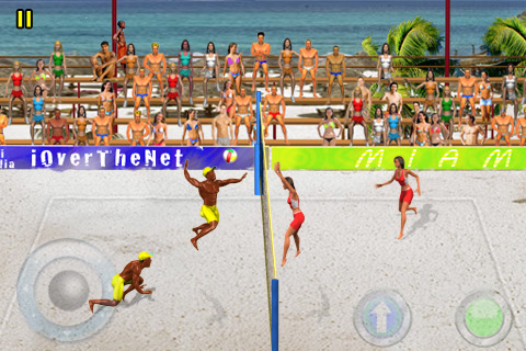 iOverTheNet Beach Volley