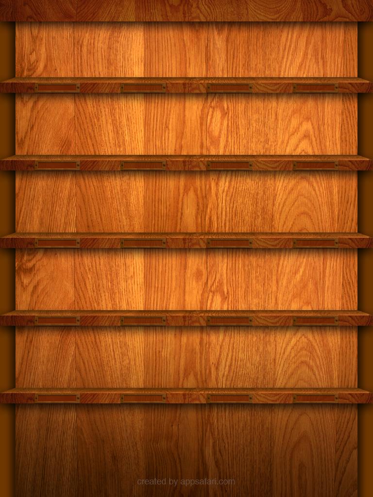 Ipad Shelf Wallpaper Template And Contest Appsafari