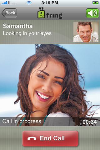 Fring Video Calling over 3G