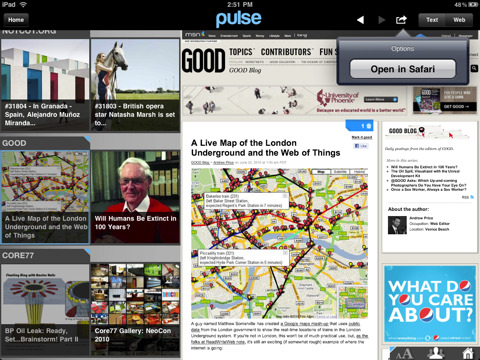 Pulse News Reader