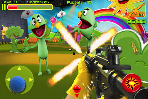 Puppet War FPS