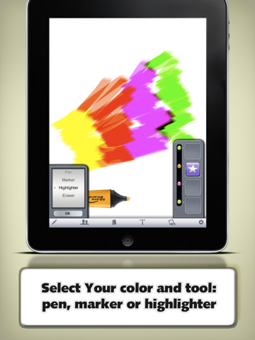 Share Board on the iPad