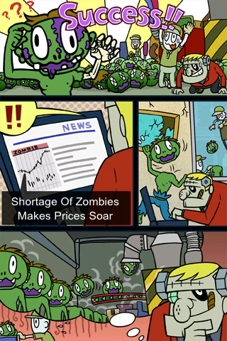 Zombie Recycling Inc. : Moldy Green