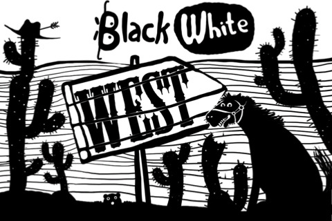 Black White West