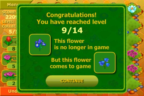 Flower Garden Logical Game