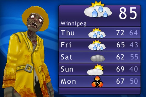Zombie Weatherman