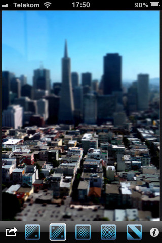 Tilt Shift Focus