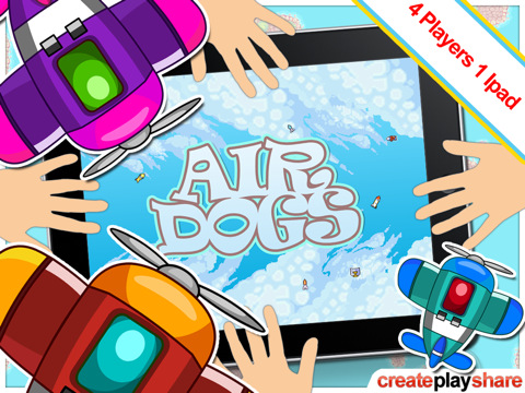 Air Dogs on the iPad