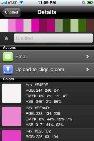 cliqcliq Colors