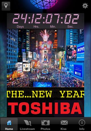 Times Square 2011 Countdown