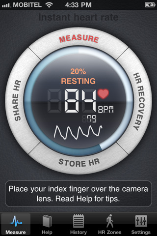 Instant Heart Rate - measure your heart rate