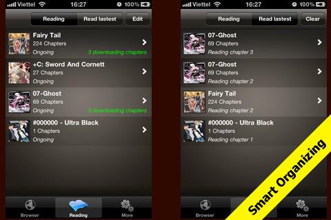 Manga Browser, Downloader & Reader