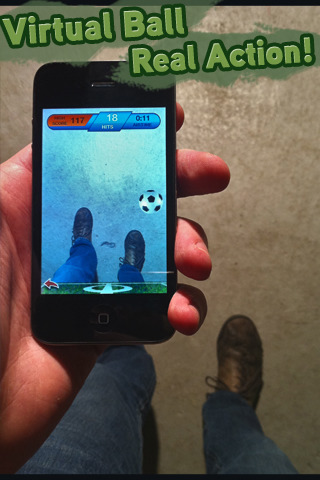 ARSoccer - Augmented Reality Soccer Game