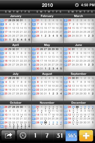 miCal - missing Calendar