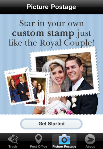 Canada Post Picture Postage app