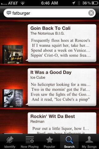MusicID with Lyrics