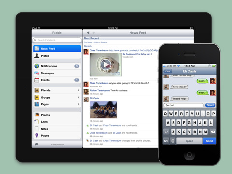 Liike for Facebook with Chat